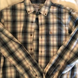 NWT button up carhartt.